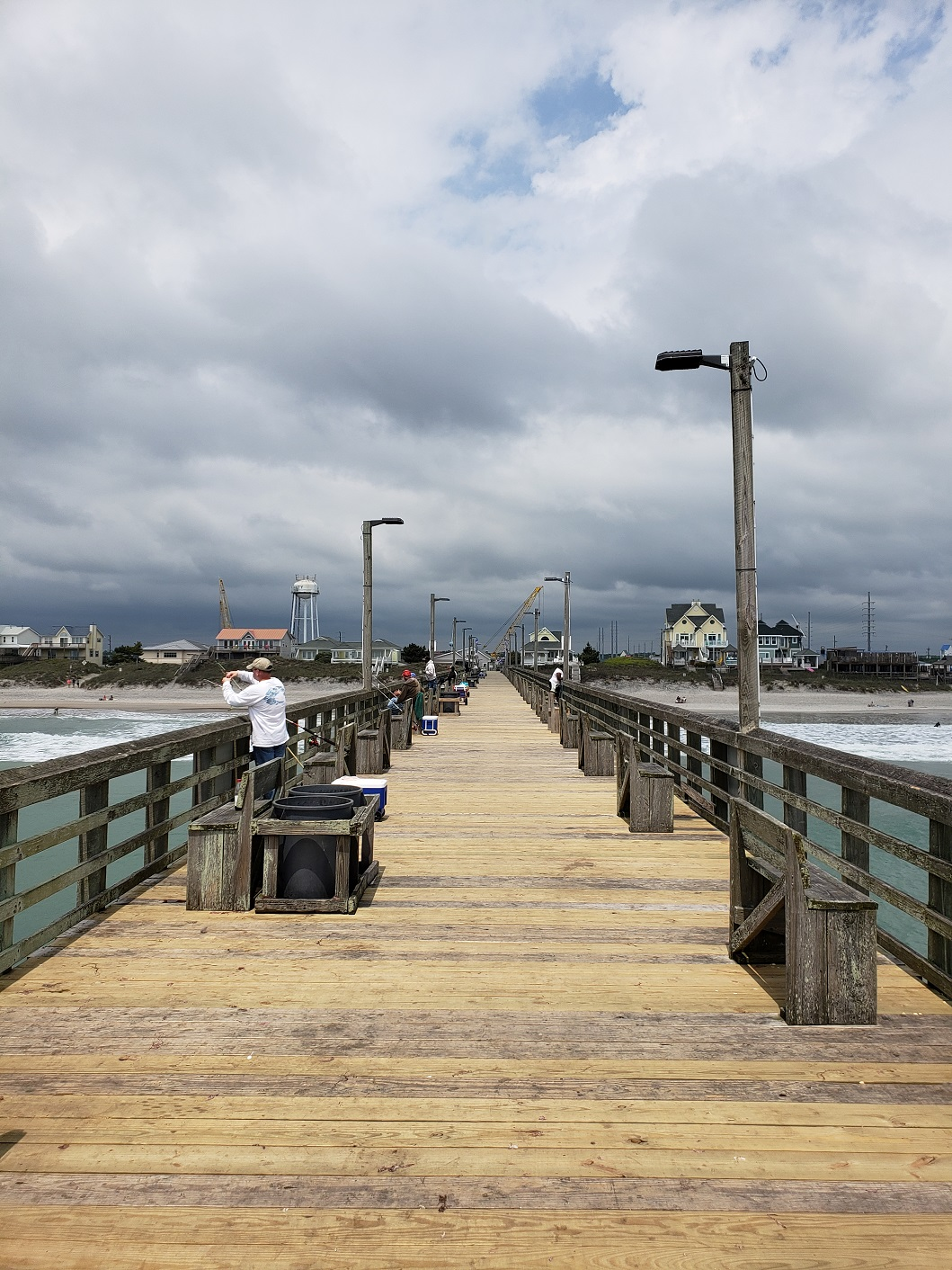 Topsail island fishing report may 2018 topsail island for Surf city pier fishing report